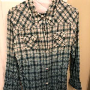 Elizabeth and James hombre button down shirt
